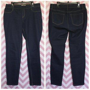 LEI Dark Pull-On Jegging Size 9